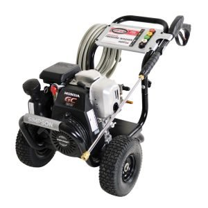 Simpson MSH3125-S MegaShot 3200 PSI Gas Engine Pressure Washer